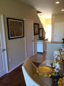 Interior of Townhome