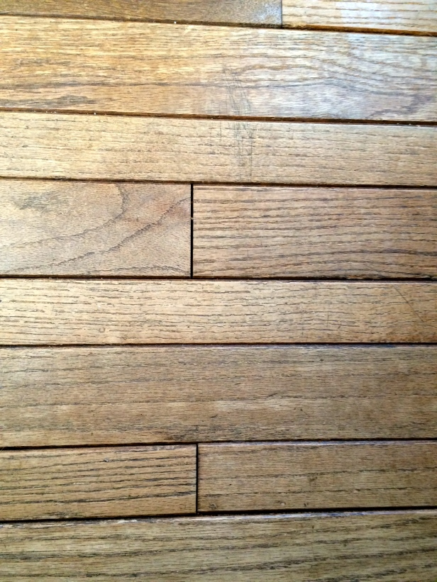 Real wood floors. Tongue and groove
