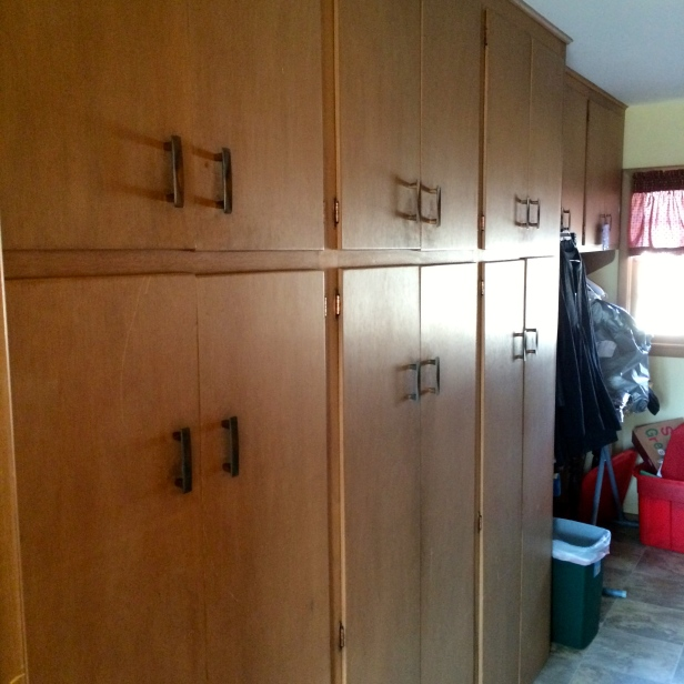 Cabinets in Laundry